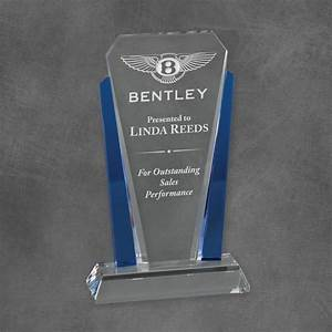 Bethesda Crystal Corporate Award - Blue   Los Angeles ...