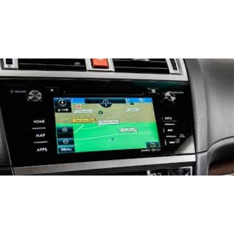 20182019 Subaru Navigation Micro Sd Card Gen2 Sat Nav Map