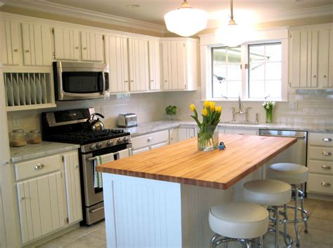 white beadboard kitchen cabinets beadboard cabinets cottage kitchen bhg