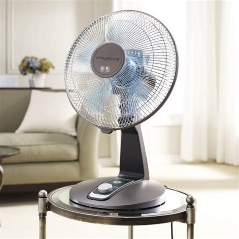 rowenta turbo silence fan rowenta vu2531 turbo silence oscillating 12 inch table fan