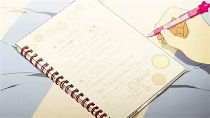 Anime Note Animated Reading Ago