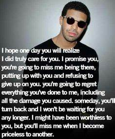 Drake Quotes on Pinterest | Drake Quotes, Drake and Tumblr ...