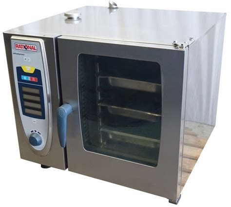 Rational Scc 61 Rational Scc61 Electric 6 Tray Combi Oven Used Commercial Kitchen Equipment