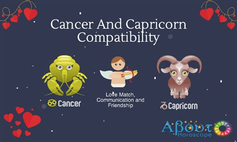 is capricorn compatible with cancer cancer and capricorn compatibility friendship