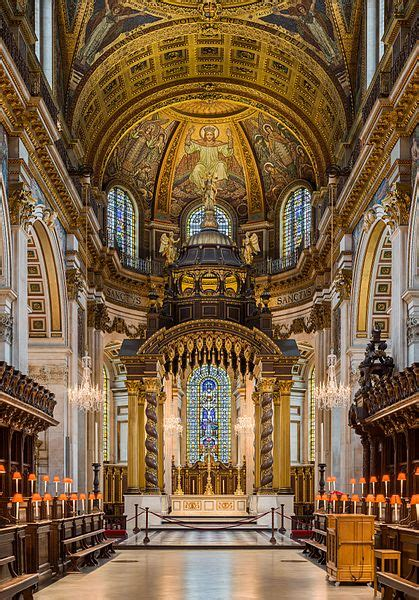 filest pauls cathedral high altar london uk diliff