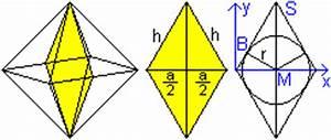 Raute Diagonale Berechnen : oktaeder ~ Themetempest.com Abrechnung