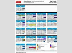 University Of San Francisco Academic Calendar Printable