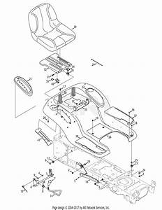 Mtd 13at915t004  2012  Parts Diagram For Seat  U0026 Fender