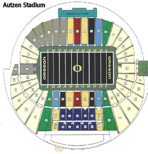 Oregon Ducks Seating Chart Arenda Stroy