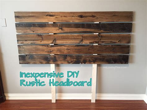 Images Of Homemade Headboards by Diy Rustic Headboard Diy Headboard For Under 50