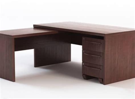 office desk with return office desk with return 3d models cgtrader com