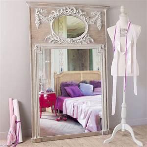 Miroir 160 Cm : miroir trumeau en bois h 160 cm mirano maisons du monde ~ Teatrodelosmanantiales.com Idées de Décoration