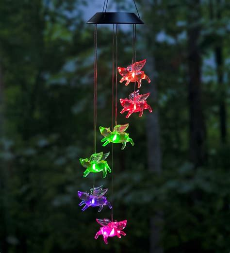 home outdoor lighting accessories color changing led solar