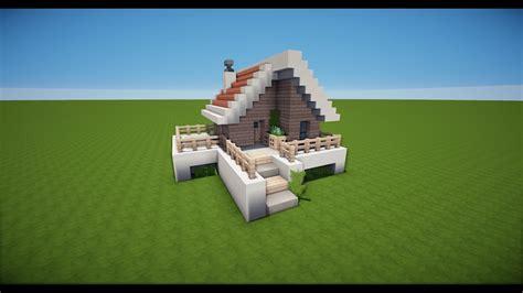 Kleines Haus Bauen by Kleines Minecraft Haus Bauen Tutorial Haus 55
