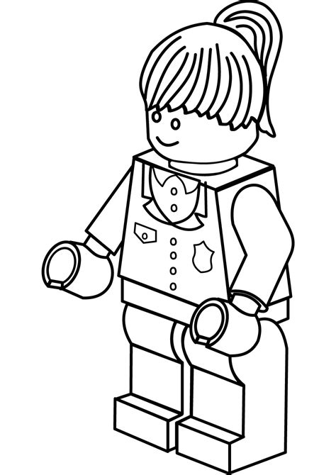The Lego Batman Harley Quinn Coloring Page - Free Coloring ...
