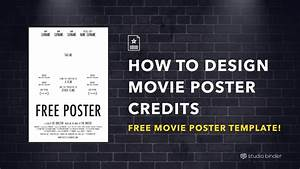 Movie poster templates pertaminico for Movie poster credits template free