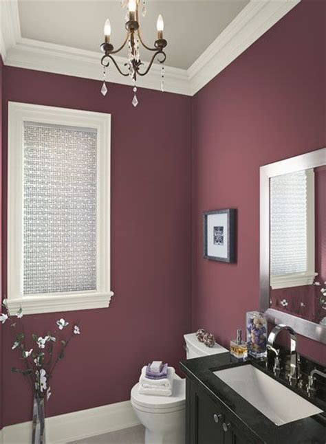 color ideas for bathroom walls 21 interiors in burgundy messagenote