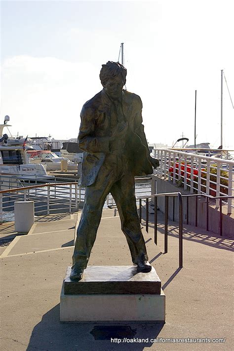 Jack London Square Statue Oakland California Ca P O