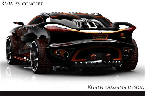 If Batman Drove A Bimmer Bmw Concept X9 Concept By