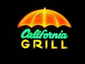 California Grill Whittier CA Neon Signs on Waymarking