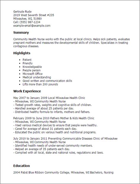 nursing resume template word resume template database