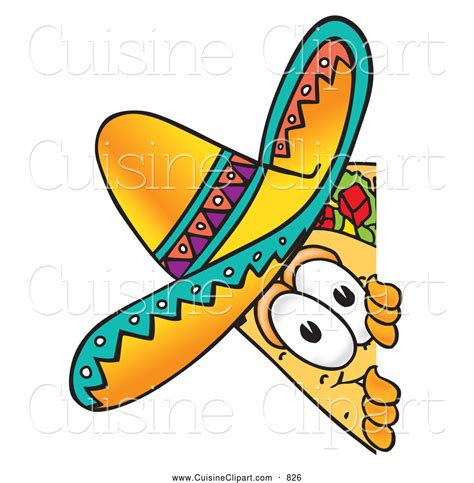 cuisine easy fish taco clipart
