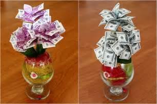 hochzeitsgeschenke selbst machen geldgeschenke zur hochzeit originell verpacken 47 ideen