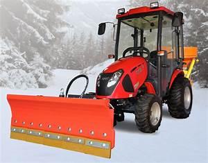 tym t273 mit kabine schneeschild und streuer With französischer balkon mit garten traktor kaufen