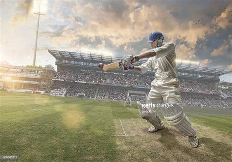 Cricket Images Cricket Batsman Stock Photo Getty Images