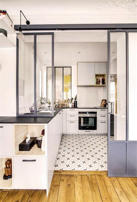 renovation appartement paris  chic chic chic kitchen en