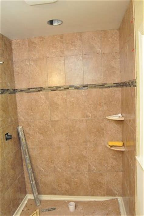bathroom walk in shower ideas how to tile a bathroom shower walls floor materials