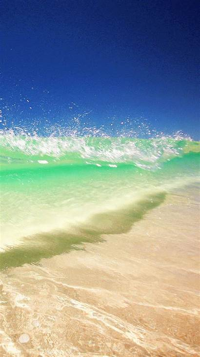 Iphone Beach Water Clear Summer Wallpapers Wave