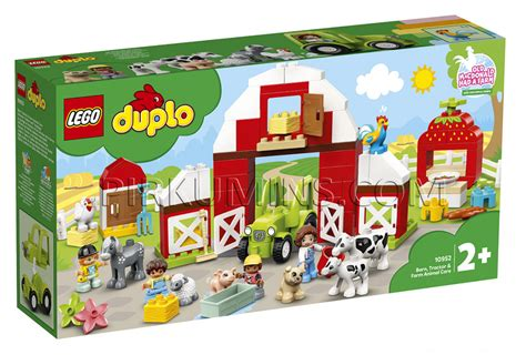 10952 LEGO® DUPLO Šķūnis, traktors un lauku sētas ...