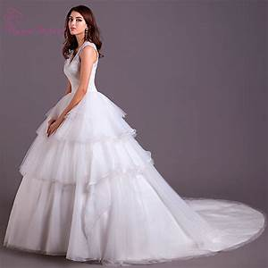 soft fine tulle puffy ball gown wedding dress 2016 kama With ball gown style wedding dresses