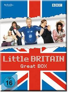 Little Britain - Great Box (8 DVDs) [DVD Filme] • World of ...