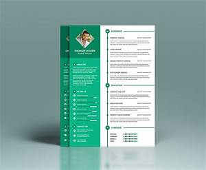 Professional Letter Template Word Free Clean Resume Design Template In Psd Format Good Resume