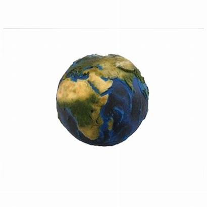 Earth Globe 3d Printed Relief Surface