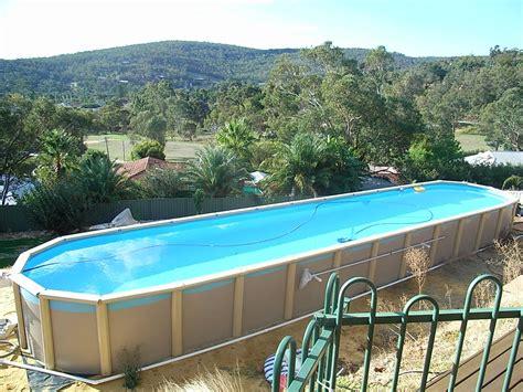Sterns  Ground Lap Pool Affordable Lap Pools