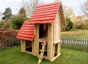 Bauanleitung Spielhaus Holz : spielhaus holz mit sandkasten ~ Michelbontemps.com Haus und Dekorationen