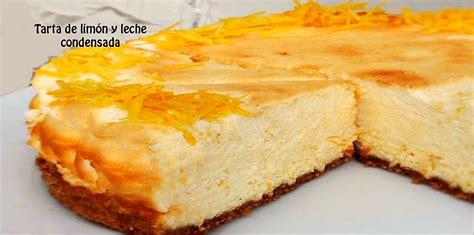 Receta De Tarta De Limòn Y Leche Condensada