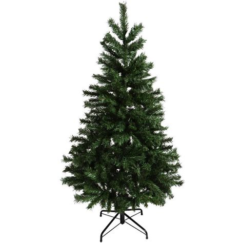 Artificial Pine Trees Decorative by Festive 5ft 152cm Green Mixed Pine Artificial Christmas