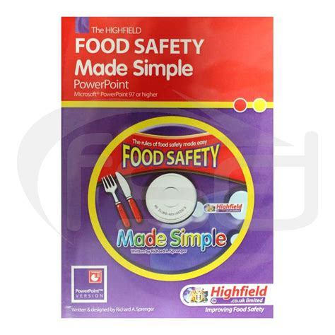 cuisine direct food safety made simple level 1 packs and