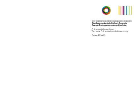 orchestre chambre calaméo philharmonie luxembourg saisonbroschüre 2014 15