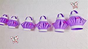 Lampions Selber Basteln : basteln girlande mit laterne diy papier lampion selber basteln youtube ~ Watch28wear.com Haus und Dekorationen