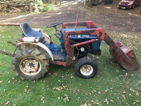 ford  compact tractor front loader  maidstone kent gumtree