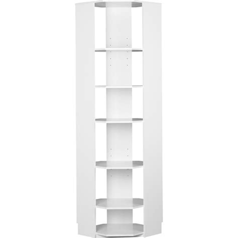 closet organizer corner unit white 7152401pcom storage on