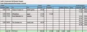 cash disbursement journal template - set the following advanced options for the batch or