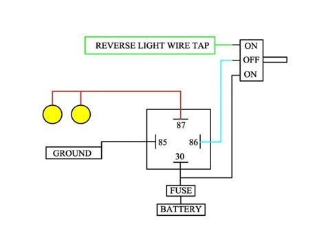 toyota tundra reverse light wiring diagram wiring forums