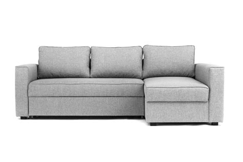 Grey Sofa Bed Uk by Boston Corner Sofa Bed With Underneath Storage In Grey