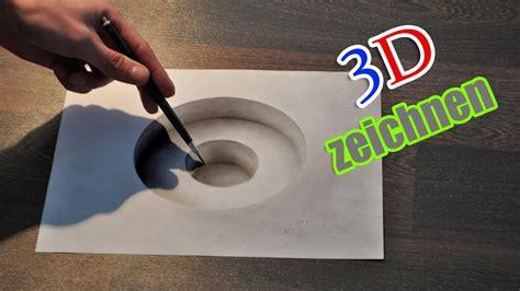 zeichnen illusion malen zeitraffer youtube